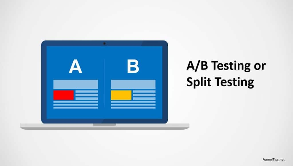 AB Test Landing Pages