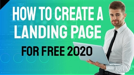 How to Create a Landing Page for Free 2020